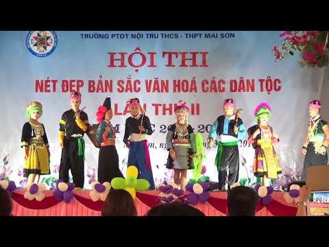 Thời sự Mai Sơn Hội thi nét đẹp bản sắc các dân tộc lần II PTDT NT Mai Sơn - Sơn La 03-4-2018.