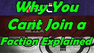 Destiny 2: Why you cant join a faction