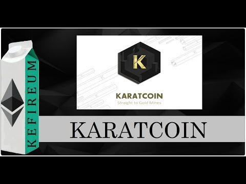 Karatcoin - твой шанс владеть настоящим золотом