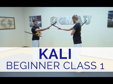 Introduction to Kali - Beginner Class #1 (Strikes, Blocks & Drills)
