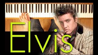 There Goes My Everything (Elvis Presley) [Intermediate Piano Tutorial]