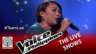"The Live Shows ""Because You Loved Me"" by Leah Patricio (Season 2)"