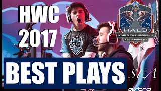 Halo World Championship 2017 Highlights Collection - Greatest Plays & Moments - dooclip.me