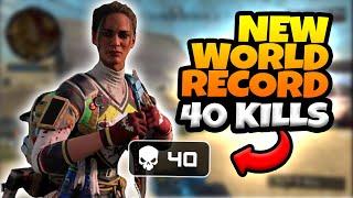 NEW WORLD RECORD 40 KILL SQUADS GAME!!