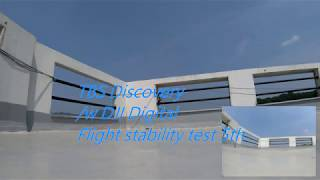 TBS Discovery /w DJI Digital FPV System Flight stability test 5th