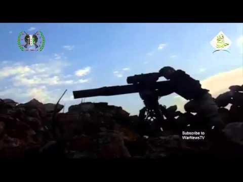 Сирия!!! T 90 против ПТРК