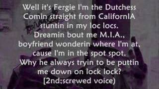 Nelly Ft Fergie   Party People +lyrics