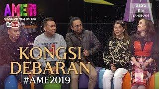 Mawi, Shah, Hani Fadzil, Radin, Sh Shahirah Kongsi Debaran....  Malam Eksklusif MeleTOP   AME2019