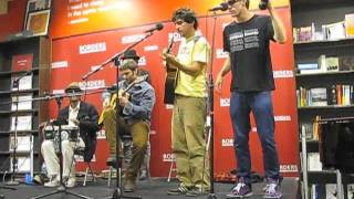 "The Monkey Song"" 100 Monkeys @ Borders, May 9, 2011"
