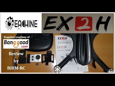 Eachine EX2H review - Unboxing, Inspection & Setup (Part I)