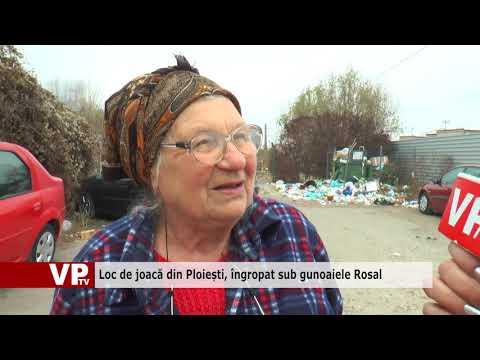 Loc de joacă din Ploiești, îngropat sub gunoaiele Rosal