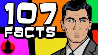 107 Archer Facts YOU Should Know! (ToonedUp #22) @ChannelFred