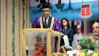 GHS-IMR 22nd Convocation 2018: Guest of Honor Mr. Samras Mayimi Addressing the Students