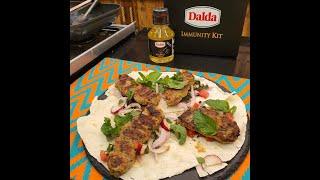 Turkish Chicken Kebab Recipe Video   Homemade Kebab With Dalda Cooking Oil   Adana Kebab By YGKH
