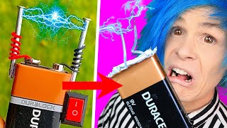 WHAT THE 5 MINUTE CRAFTS??!?!?! TRYING 4 DIY INVENTIONS by INVENTOR101