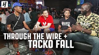Through The Wire Podcast x Tacko Fall | LIVE from Las Vegas