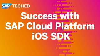 Success with iOS | SAP TechEd in 2020