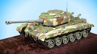 3D Tank Cake Tutorial - Introduction
