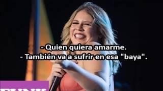 Marília Mendonça   TODO MUNDO VAI SOFRER (Letra Español)