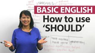 """Como usar o """"SHOULD"""" - Inglês Básico"""