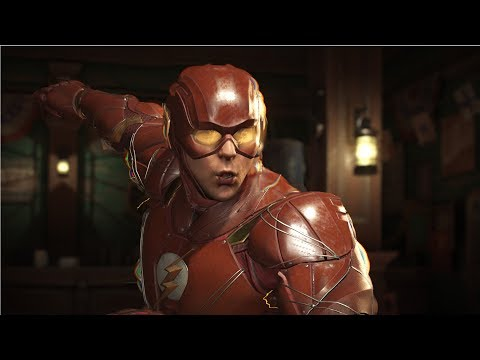 Injustice 2 - The Flash(Justice League) VS Godspeed