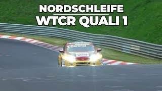 Legendary Nordschleife, quali 1 WTCR Tom Coronel 2018 for race 1