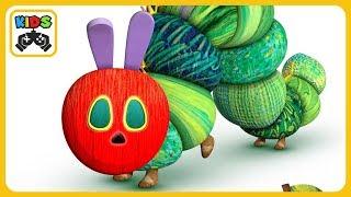 Моя очень голодная гусеница * Мультик игра для детей * iOS   Android