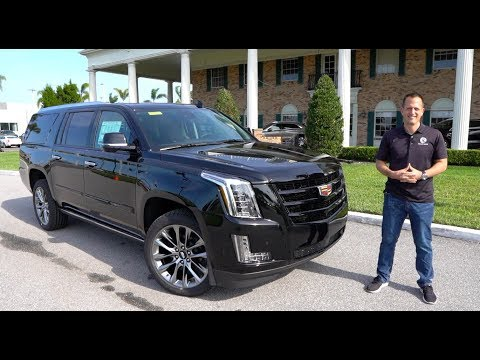 External Review Video kDauJds3qoo for Cadillac Escalade Full-Size SUV (4th Gen)