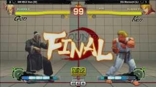 CEO 2013: SSF4: AE Ver. 2012 Grand Finals - DM MCZ Xian vs EG Momochi