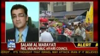 Salam Al-Marayati on Fox News Re: 'Ground Zero Mosque'