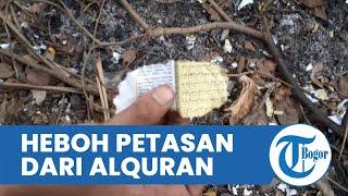 Heboh Petasan dari Kertas Alquran Dibakar saat Hajatan di Ciledug, Penyelenggara Tak Tahu & Menyesal