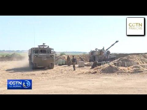 L'armée israélienne rassemblerait des troupes le long de la frontière avec Gaza L'armée israélienne rassemblerait des troupes le long de la frontière avec Gaza