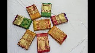 Grand South Indian Wedding Sarees Kanchipuram Sarees Collection | Million Designs