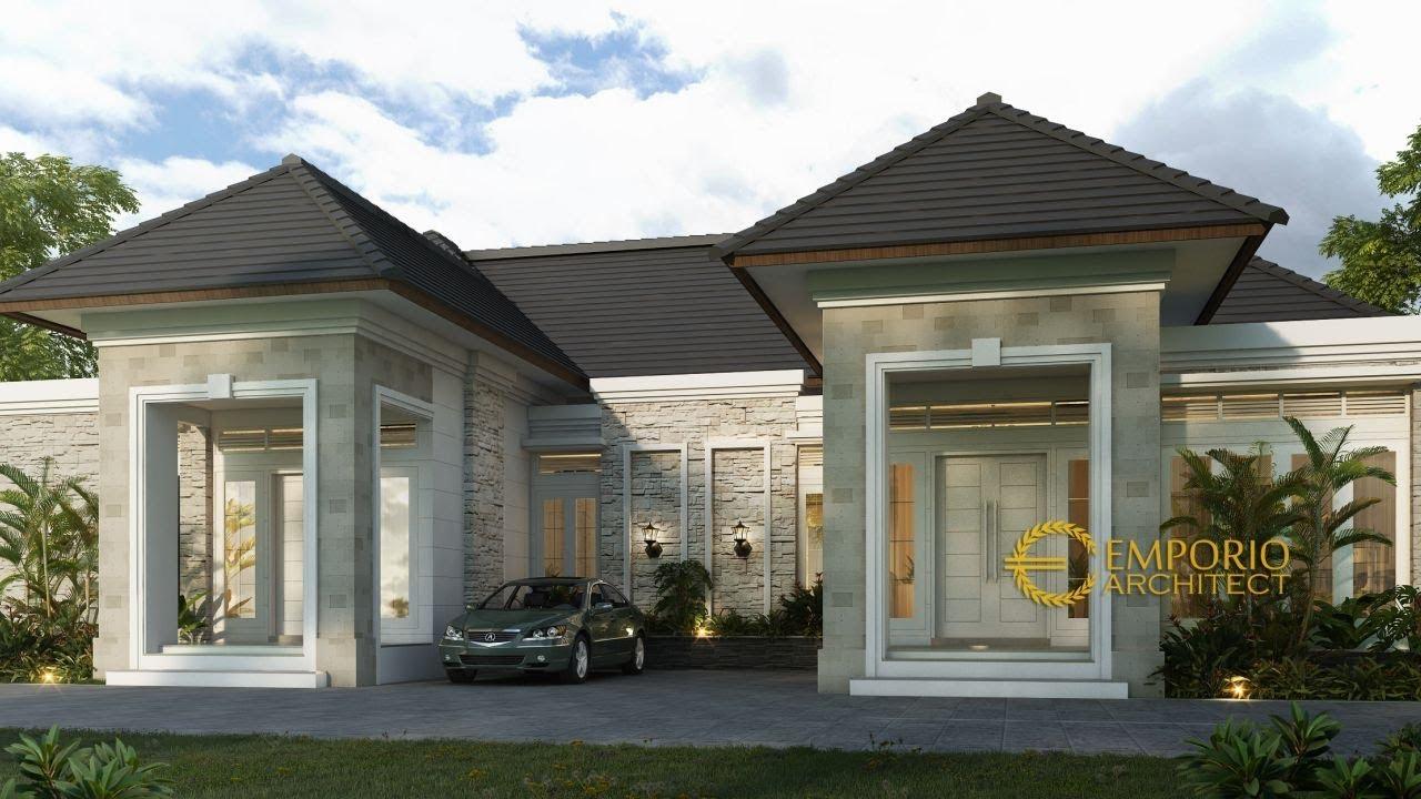 Video 3D Mrs. Winda Classic House 2 Floors Design - Sumatera Barat