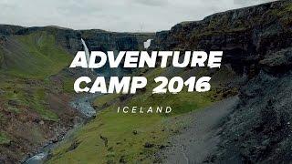 Adventure Camp 2016: Iceland