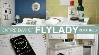 Clean With Me | Flylady Cleaning Routines