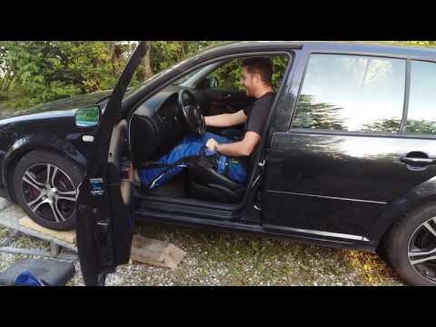 Golf 4 V6 ohne Auspuff
