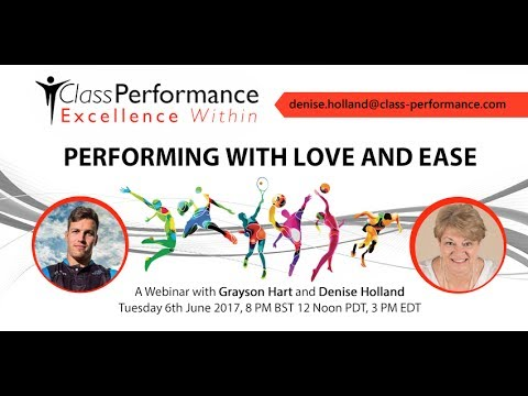 Performing with Love and Ease (Elite Sport)