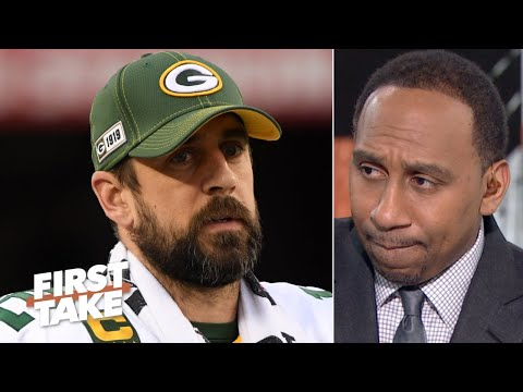 Stephen A. is devastated that Aaron Rodgers' Super Bowl chances are over | First Take