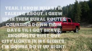 Drivin' Aroung Song- Colt Ford ft. Jason Aldean lyrics