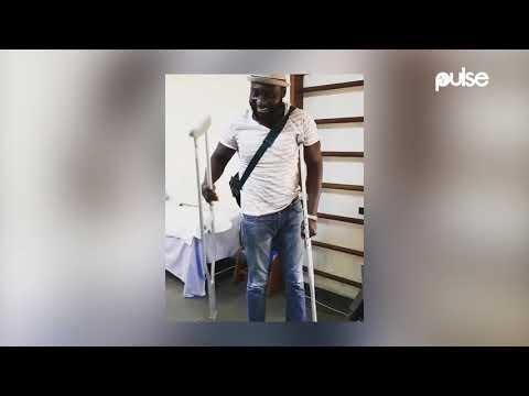 Djinee Walks Again After Surviving Car Crash | Pulse TV News