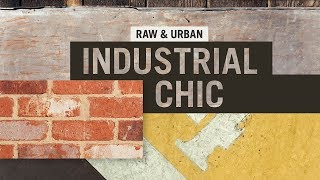 Exterior Home Design Styles - Industrial Chic