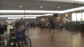 Flying out of Palm Beach International Airport