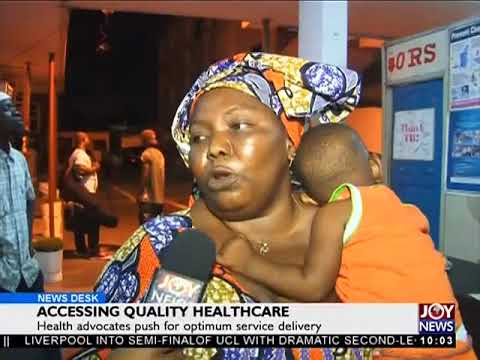 Accessing Quality Healthcare - News Desk on Joy News (11-4-18)