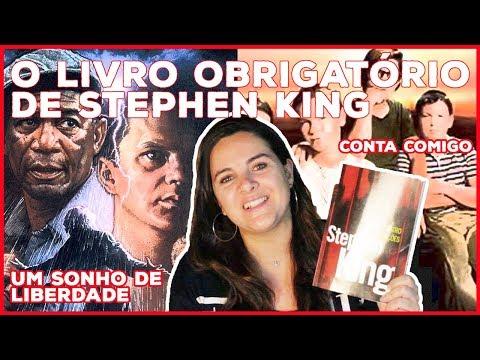 AS QUATRO ESTAÇÕES, STEPHEN KING   LIVROS DA BELA