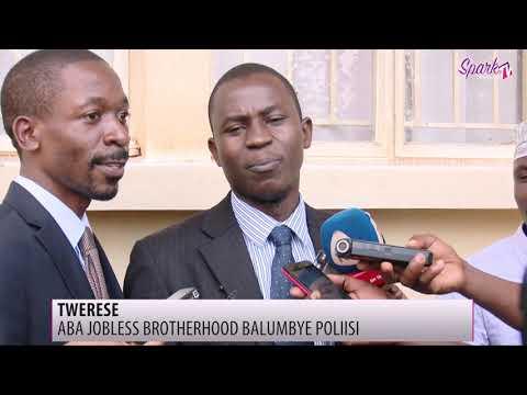Aba Jobless brotherhood balumbye poliisi mu Kampala