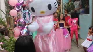 Casey Nicoles 7th Birthday With Hello Kitty