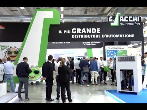 Sacchi Automation: il più grande distributore d'automazione in Fiera SPS a Parma
