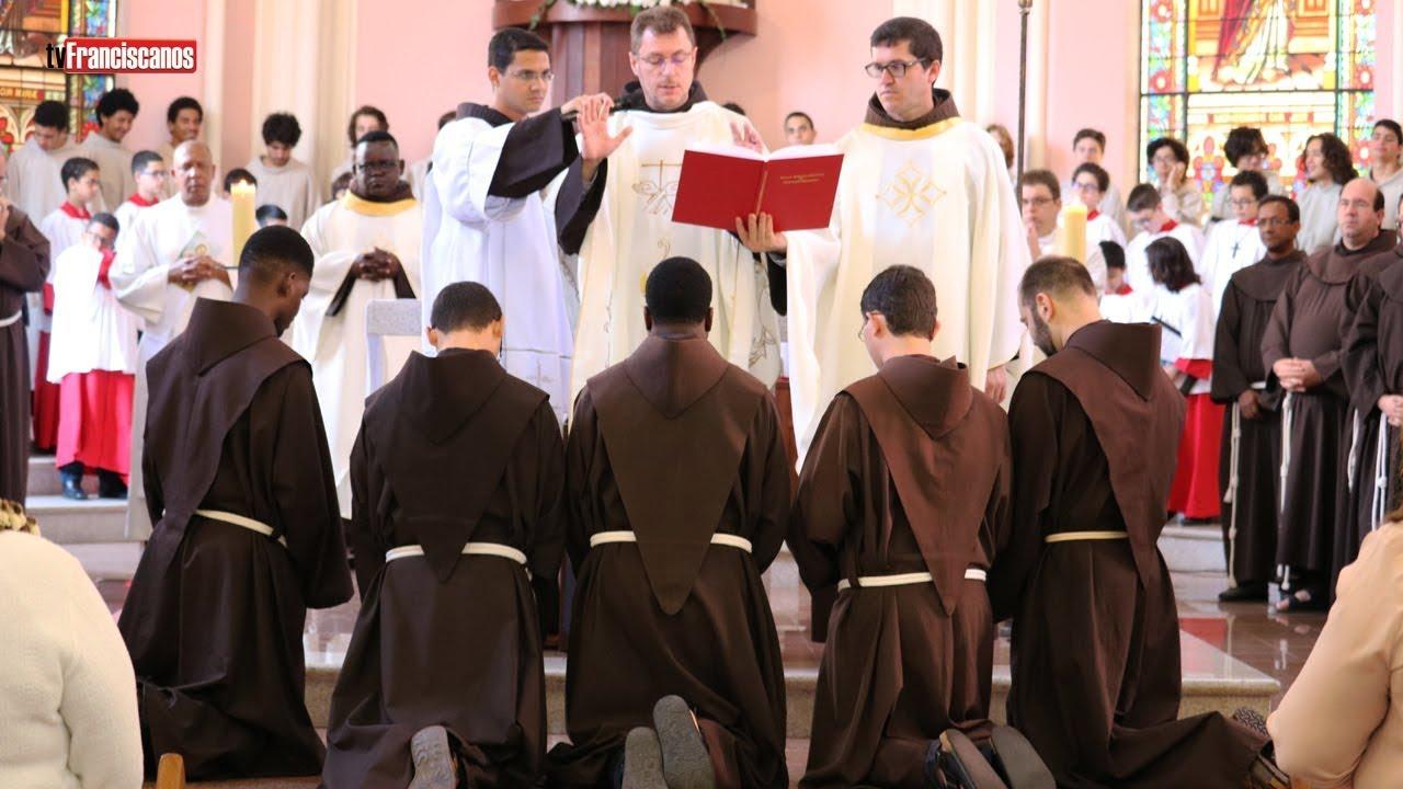 Profissão Solene na Ordem dos Frades Menores