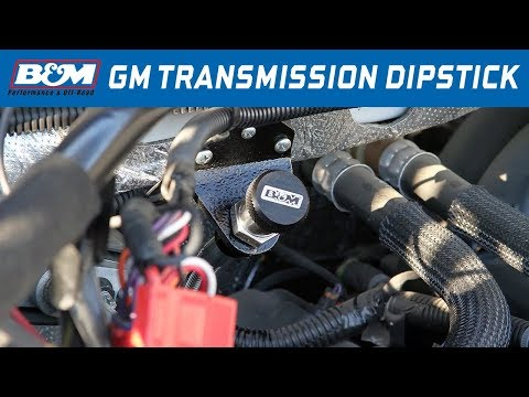 GM Truck/SUV 8L90E Transmission - B&M Locking Transmission Dipstick 22173